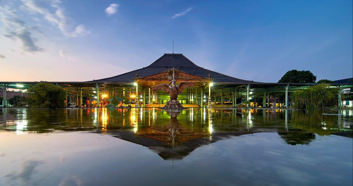 Tempat Wisata Kraton Mangkunegaran di Solo