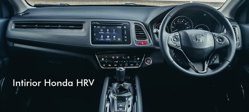 intirior Honda HRV di Jogja