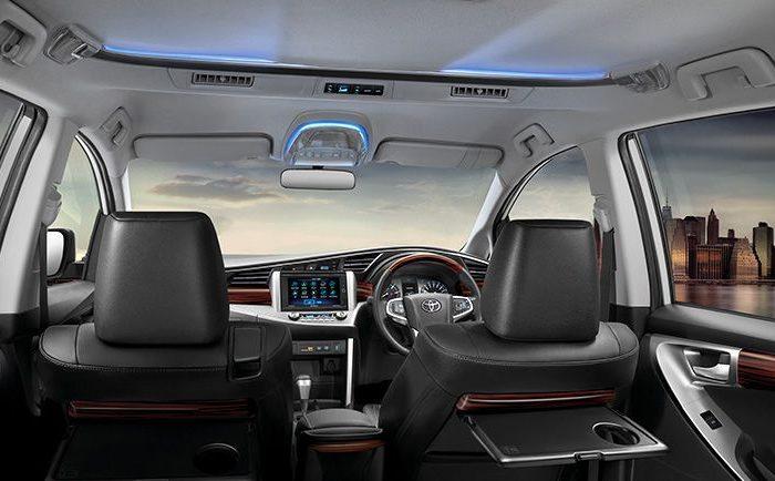 Rental Mobil Toyota Innova Reborn Yogyakarta- Intirior