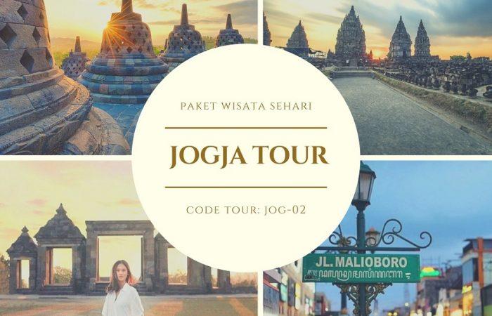 Paket Wisata Jogja Tour Borobudur - Prambanan - Ratu Boko