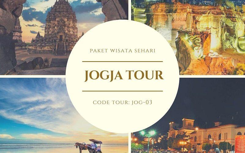 Paket Wisata Jogja Tour Prambanan-Tebing Breksi-Gumuk Pasir-Sunset Parangtritis