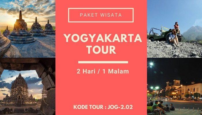 Paket Wisata Yogyakarta Tour 2.02Paket Wisata Yogyakarta Tour 2.02