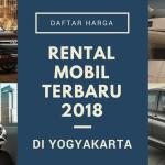 Daftar harga rental mobil terbaru di Yogyakarta