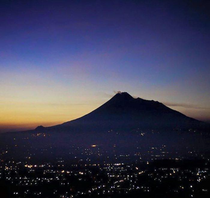 Sunset di Yogyakarta
