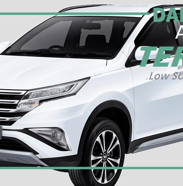 Tampilan Terbaru Mobil Daihatsu All New Terios di Yogyakarta