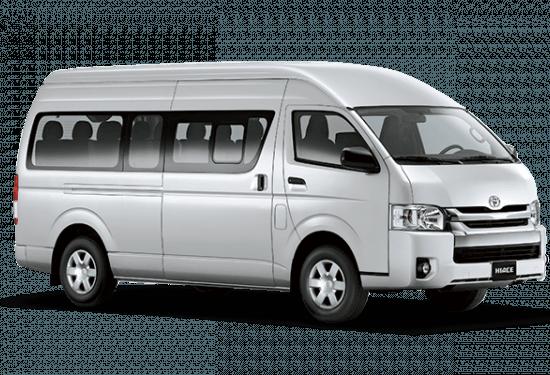 Sewa Mobil Toyota Hiace Commuter