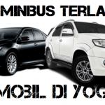 tipe minibus terlaris untuk rental mobil di Yogyakarta