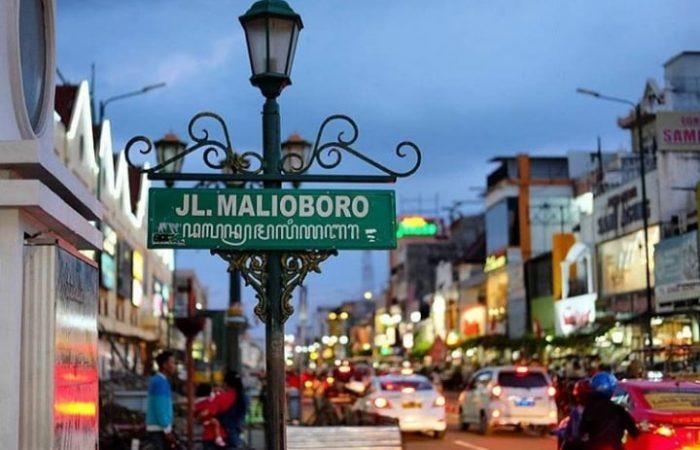 Jalan Malioboro di kota Jogja