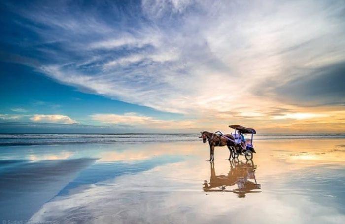 Pantai Parangtritis di Bantul