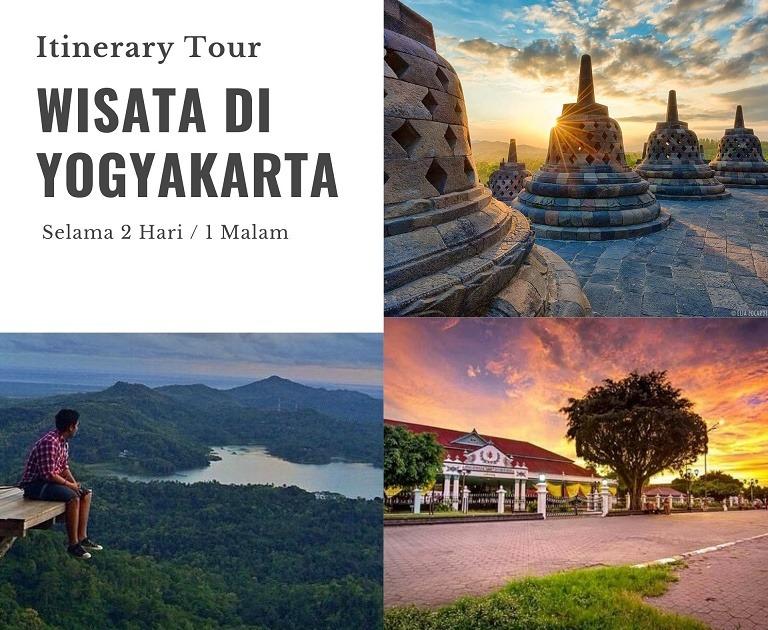 Itinerary Tour di Yogyakarta Untuk Berwisata Selama 2 Hari