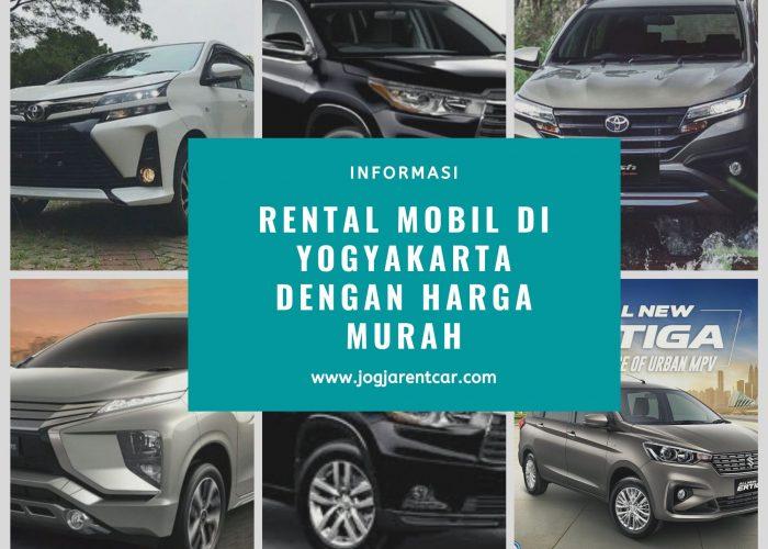 rental mobil di yogyakarta dengan harga murah