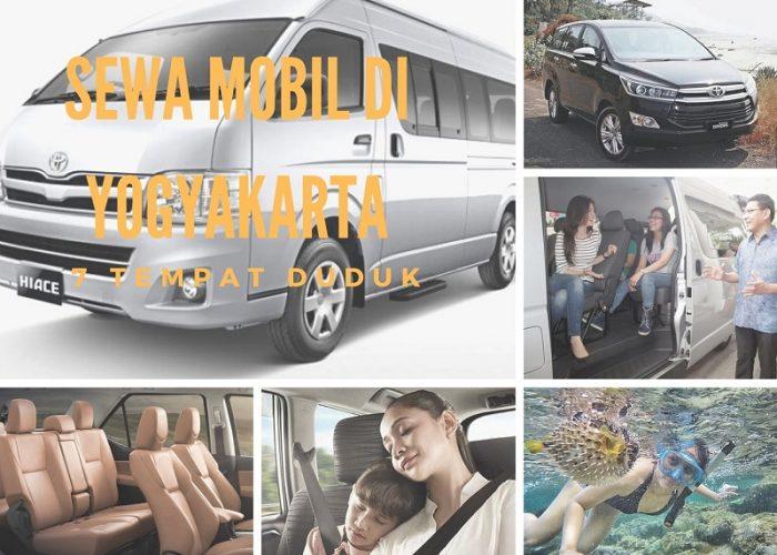 Sewa Mobil di Yogyakarta dengan 7 Tempat Duduk Penumpang