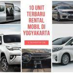 Rental Mobil Terbaru di Yogyakarta