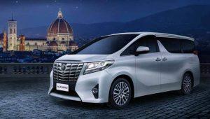 Rental Mobil MPV di Yogyakarta dengan Toyota Alphard